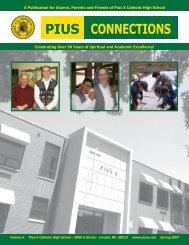 Spring 2007 - Pius X Foundation Home - Pius X High School