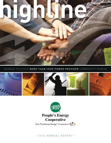 Annual Report - People's Cooperative Services