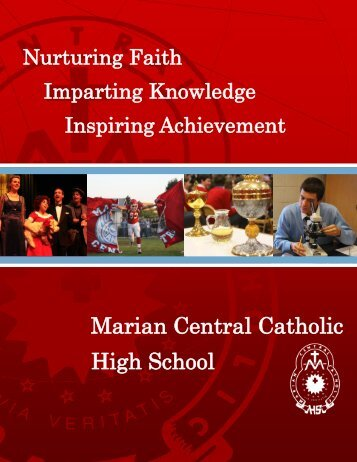 Marian Central Catholic High School 1001 McHenry Avenue ...