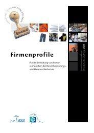 Firmenprofile - Eine Welt Netz NRW