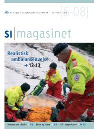 SI Magasinet nr 6-2008 - Sykehuset Innlandet HF