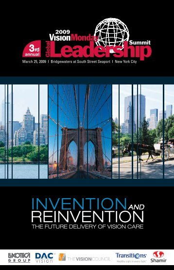 Download 2009 Program - Vision Monday Global Leadership ...