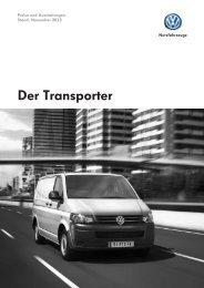 Der Transporter - VW Nutzfahrzeuge