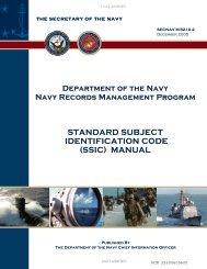 Standard subject identification code - Historic Naval Ships Association