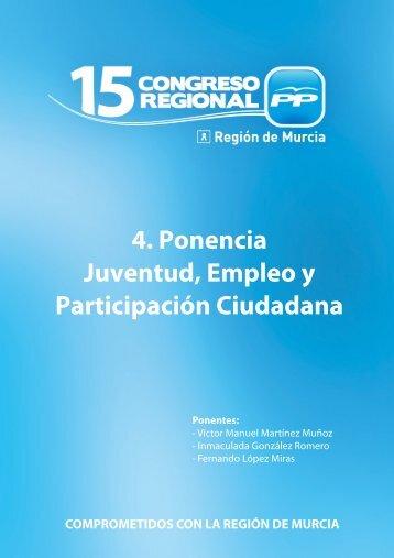 Juventud, empleo y participación ciudadana - laverdad.es