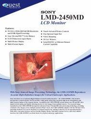 Sony lmd2450md.indd - Quest International