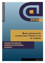 Bases presentación candidaturas: Proxecto fin de carreira - Colexio ...