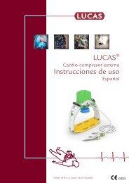 LUCAS Instrucciones de uso - Lucas CPR