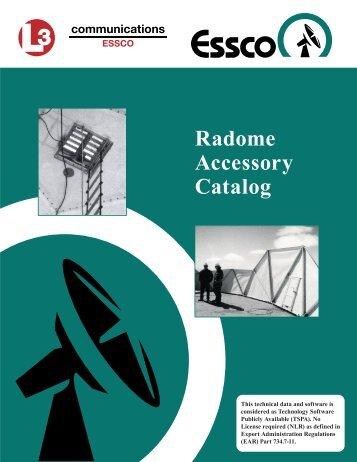 Radome Accessory Catalog - L-3 Communications