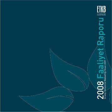 2008 Yılı Faaliyet Raporu - Enerji ve Tabii Kaynaklar Bakanlığı