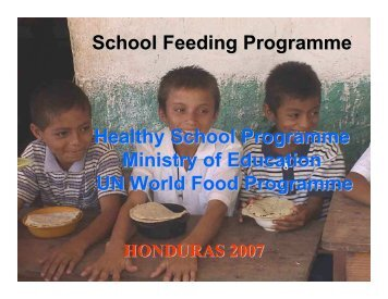 Health School Programme, Ministry of Education and United Nations ...