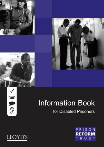 Information Book for Disabled Prisoners - Inside Time