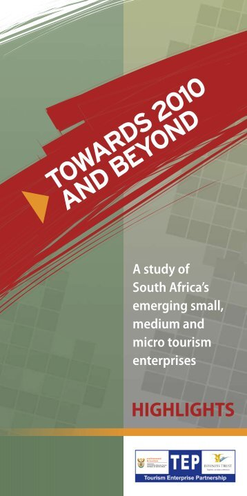 A study of South Africa's emerging small, medium ... - Business Trust