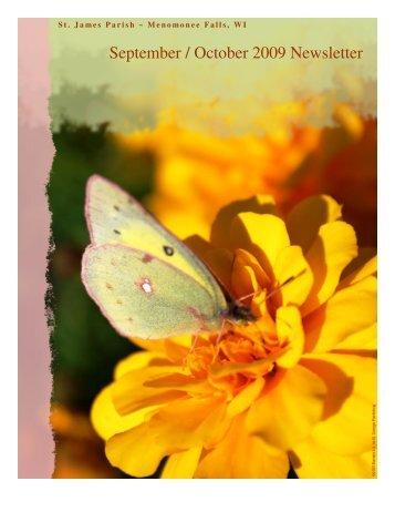 September / October 2009 Newsletter - St. James