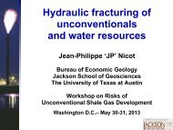 Risks of Shale Gas Exploration and Hydraulic Fracturing to Water ...