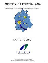 S P I T E X  S TAT I S T I K  2 0 0 4 - Spitex Verband Kt. Zürich