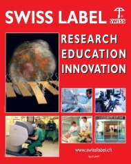 SWISS LABEL RECHERCHE - XP - Com Consulting SA