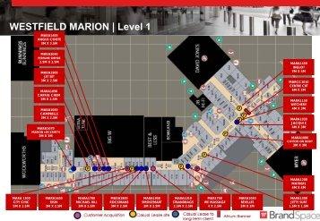 WESTFIELD MARION   Level 1 - Westfield Pop-Up