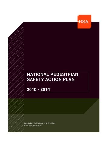National Pedestrian Safety Action Plan - Road Safety Authority