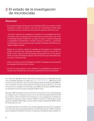 El estado de la investigación de microbicidas 2 - IRMA