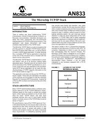 The Microchip TCP/IP Stack