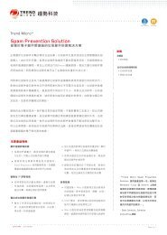 Spam Prevention Solution - Trend Micro