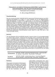 Polycyclische aromatische Kohlenwasserstoffe (PAK) in ...