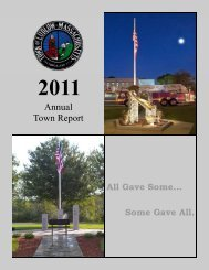 2011 Town Report - Town of Ludlow