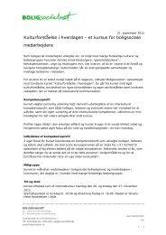 Kulturforståelse i hverdagen - et kursus for ... - BLBoligen.dk