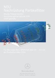 NEU Nachrüstung Partikelfilter - Mercedes-Benz Automobil AG