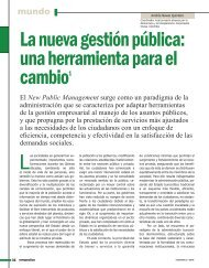 La nueva gestión pública - Revista Perspectiva