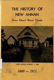1971 The History of New Annan - IslandLives