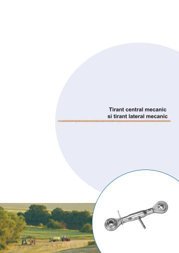 Tirant central mecanic si tirant lateral mecanic - Ama RO