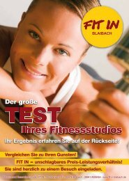 Untitled - Fit in Blaibach, Fitnessstudio