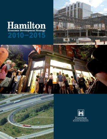 charting hamilton's labour market - Hamilton Economic Development