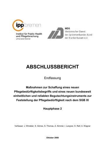 Abschlussbericht zur Hauptphase 2 - LIGA Rheinland-Pfalz