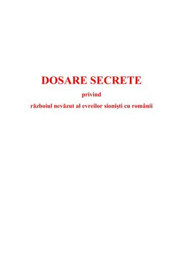DOSARE SECRETE - Proiect SEMPER FIDELIS
