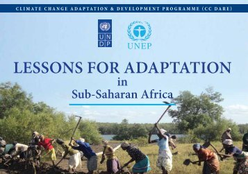 CC Dare Lessons for Adaptation in Sub Saharan Africa