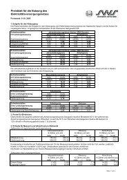 Preisblatt für die Nutzung des Elektrizitätsnetzes, gültig ab 01.01.2009