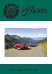 Swiss Jaguar 'E' Type Club