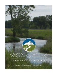 the functions and responsibilities - McHenry County Conservation ...