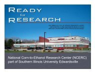 National Corn-to-Ethanol Research Center - Bioeconomy ...