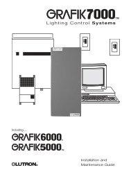 Lighting Control Systems - Lutron