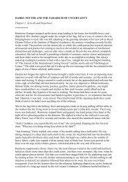 HARRY POTTER AND THE PARADIGM OF ... - HogwartsOnline