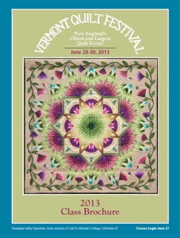 Here - Vermont Quilt Festival