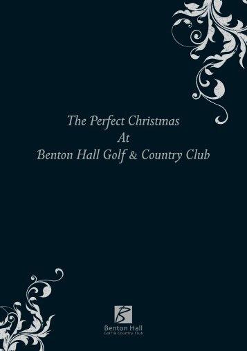 BH Christmas Menus b 2009 - The Club Company