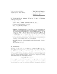 Is the quark gluon plasma produced in RHIC collisions strongly ...