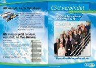 Ihre Kandidaten der CSU Neubiberg - Michael Jäger