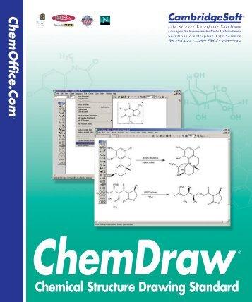 ChemDraw User's Manual - CambridgeSoft