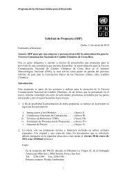 Solicitud de Propuesta (SDP) - Instituto Meteorológico Nacional